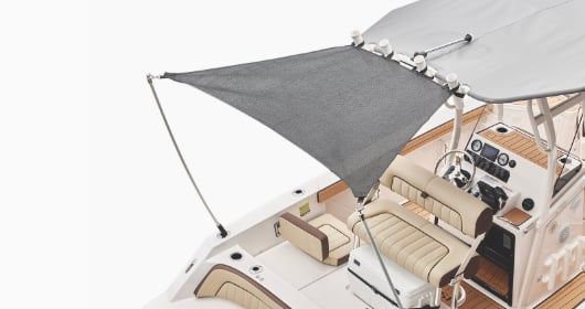FSH Extended Aft Sun shade