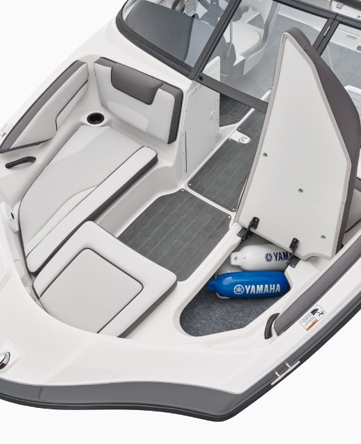 Yamaha Boats AR190 bow seating feature