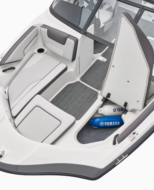 Yamaha Boats SX190 bow seating feature