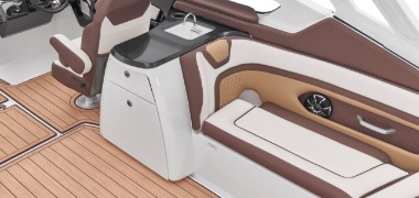 Yamaha 2021 galley with sink