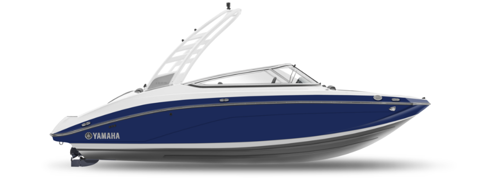 195S yacht blue profile
