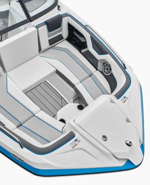 Yamaha 2021 212XD feature bow seating