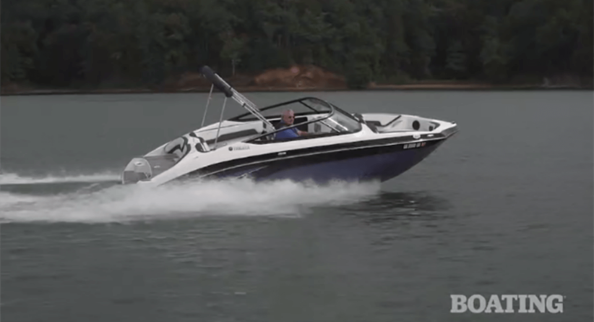 Boating Magazine Buyer's Guide Review of the 2019 Yamaha SX195